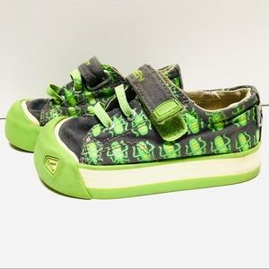 Keen Canvas Toddler Bug Sneakers